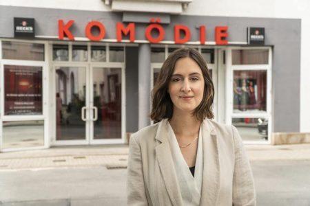 Theaterleiterin Valerie Findt. Foto: ©Komödie Bielefeld.