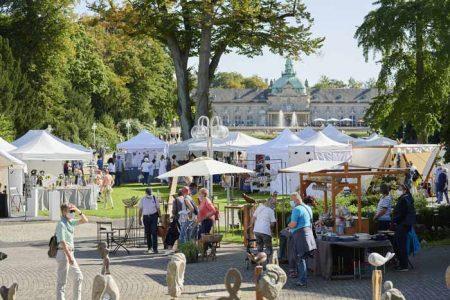 Kunsthandwerkermarkt Exklusiv & Schön am 18. und 19. September im Kurpark.