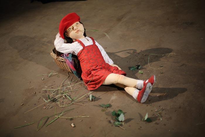 """""""Rotkäppchen"""" gibt es als Figurentheater am Samstag, 27. November, zu sehen. Foto: ©Helmut Pogerth"""